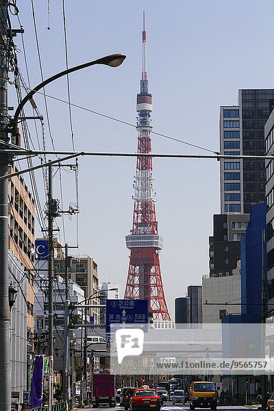 durchsichtig,transparent,transparente,transparentes,Himmel,Straße,Großstadt,Tokyo,Hauptstadt,Turm