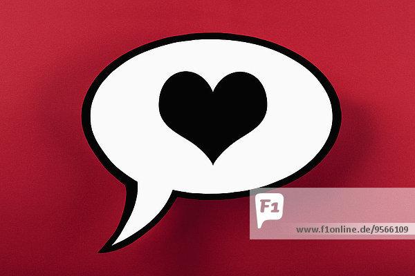 Rede,Reden,Blase,Blasen,Hintergrund,rot,herzförmig,Herz