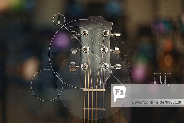 Grafik Close-up Gitarre Design Grafik,Close-up,Gitarre,Design
