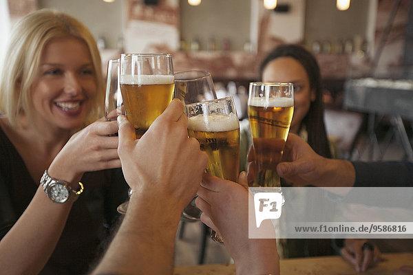 Freundschaft, Cafe, Bier