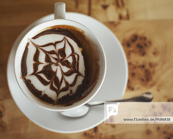 Getränk Close-up Dekoration Kaffee