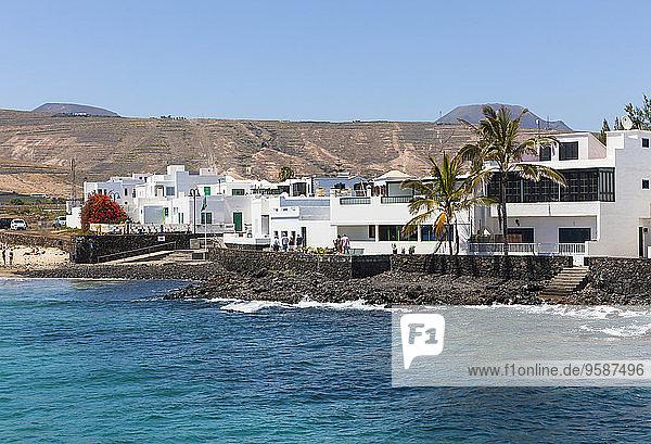 Spanien  Kanarische Inseln  Lanzarote  Punta de la Vela  Fischerdorf bei Arrieta