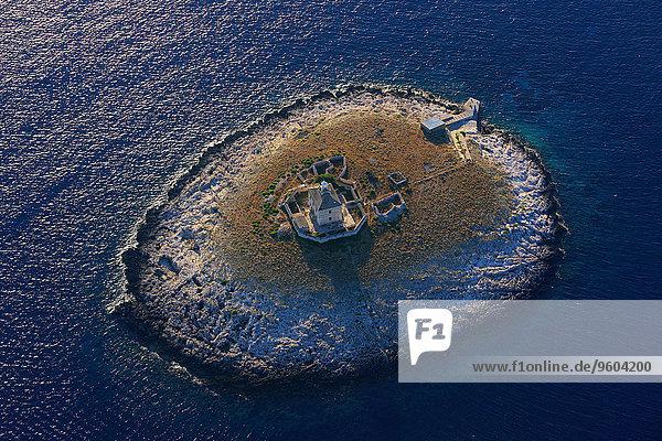 Leuchtturm Adriatisches Meer Adria Kroatien Dalmatien