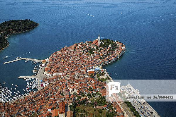 Luftbild Kroatien Istrien
