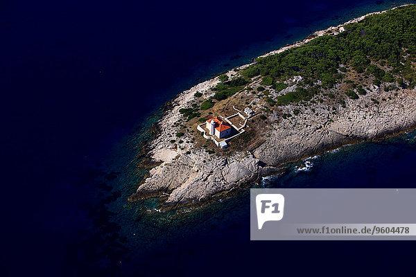 Leuchtturm Adriatisches Meer Adria Kroatien