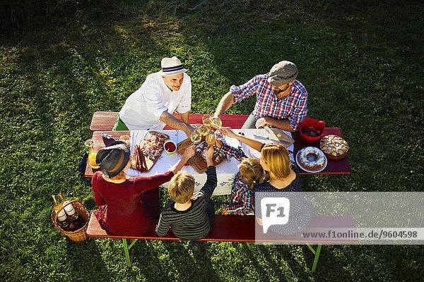 Picknick Garten