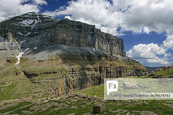 Spanien  Nationalpark Ordesa  Felsformation
