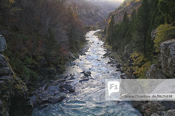 Spanien  Nationalpark Ordesa  Fluss Arazas