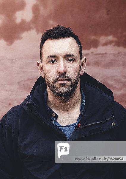 Portrait of man with full beard