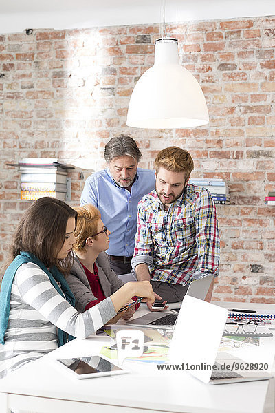 Kreatives Geschäftstreffen im Sitzungssaal