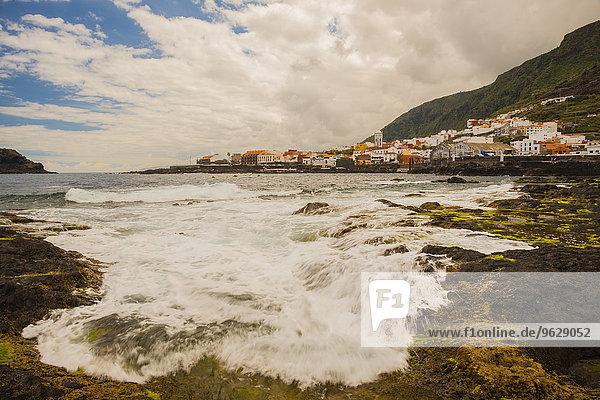 Spanien  Kanarische Inseln  Teneriffa  Blick auf Garachico