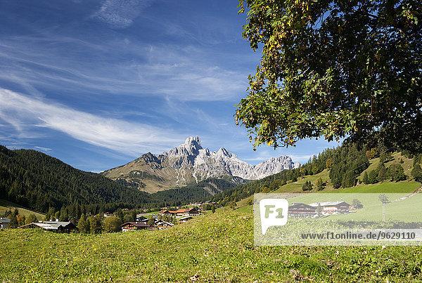 Österreich  Filzmoos  Dachsteingebirge  Bischofsmütze