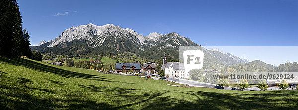 Österreich  Steiermark  Ramsau am Dachstein  Dachsteingebirge  Panorama