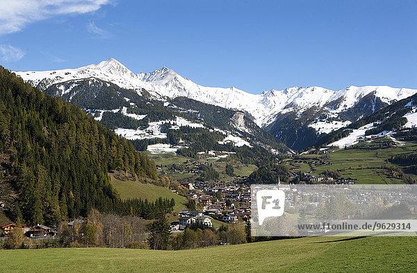 Austria  East Tyrol  Matrei  Hohe Tauern National Park in autumn