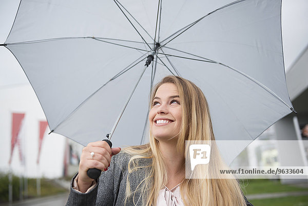 Hope safety security woman rain weather Positive