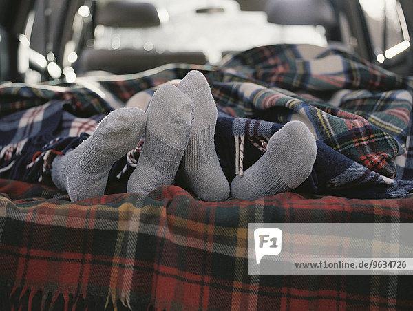Auto schlafen