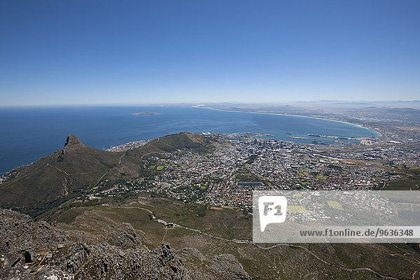 Lions Head viewed from Table Mountain