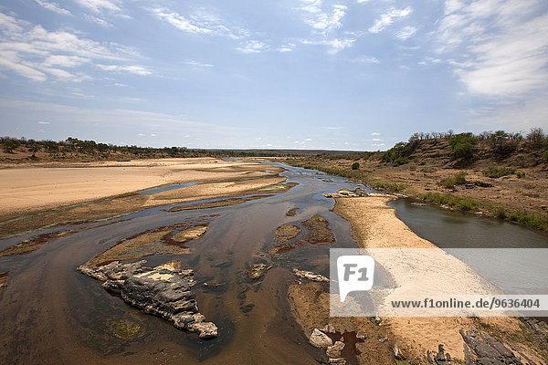 River flowing through landscape  Olifants River