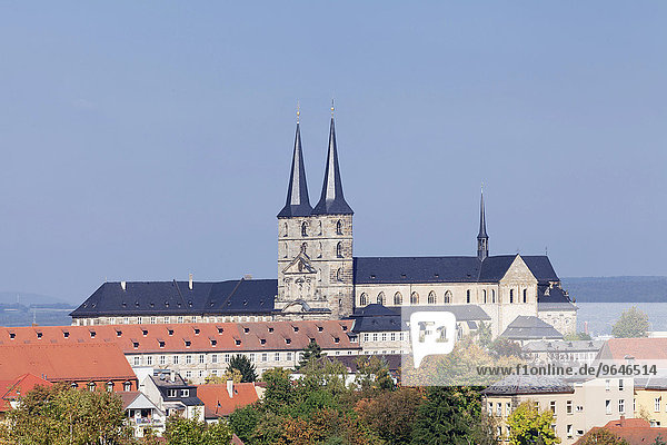 Kloster Michaelsberg  Bamberg  Franken  Bayern  Deutschland  Europa