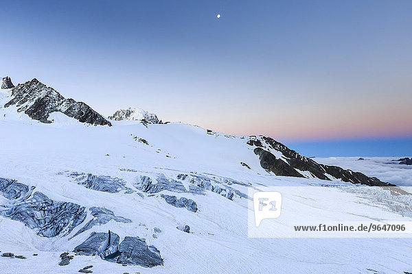 Gletscher Glacier du Tour  Mont-Blanc-Massiv  Frankreich  Europa