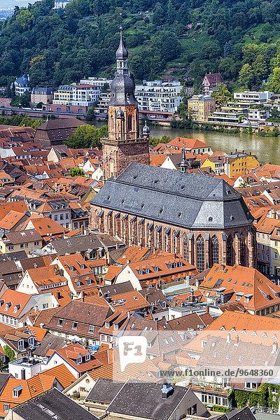 Heiliggeistkirche  Heidelberg  Baden-Würtemberg  Deutschland  Europa