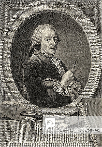 François Boucher  1703-1770  French painter  draftsman  engraver  court painter to Louis XV  historical illustration