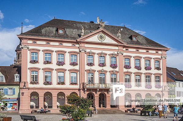 Rathaus  Gengenbach  Schwarzwald  Baden-Württemberg  Deutschland  Europa