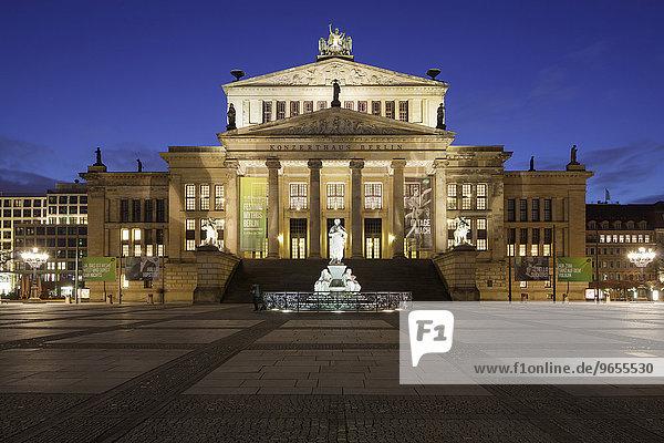 Schauspielhaus Berlin Concert Hall on Gendarmenmarkt  Berlin  Germany  Europe