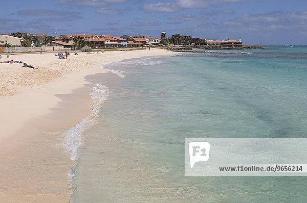 Strand  Santa Maria  Sal  Kapverden  Afrika