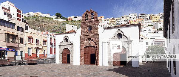 Kirche Nuestra Señora de la Asunción  La Gomera  Kanarische Inseln  Spanien  Europa