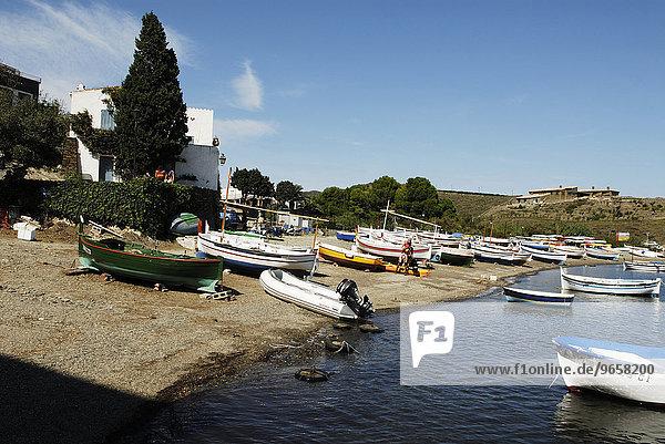 Haus von Salvador Dali und seiner Frau Gala  Port Lligat  Provinz Girona  Spanien  Europa