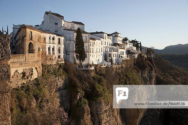 Altstadt von Ronda  Andalusien  Spanien  Europa