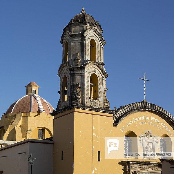 Carmen de Abajo Catholic church  Oaxaca  Mexico  North America