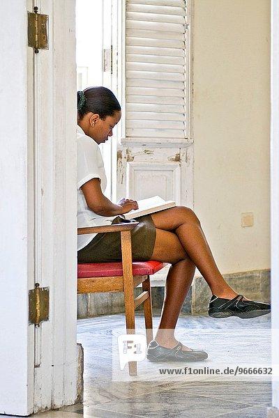 Havanna Hauptstadt Museum Mädchen Kuba