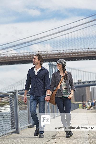 gehen Brücke Hintergrund