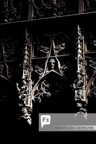 Frankreich Ende Kathedrale Heiligtum schreiben UNESCO-Welterbe Jungfrau Maria Madonna Gers einstellen
