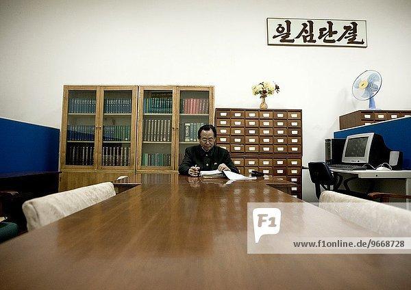 Wohnhaus Ehrfurcht Professor Nordkorea Studium