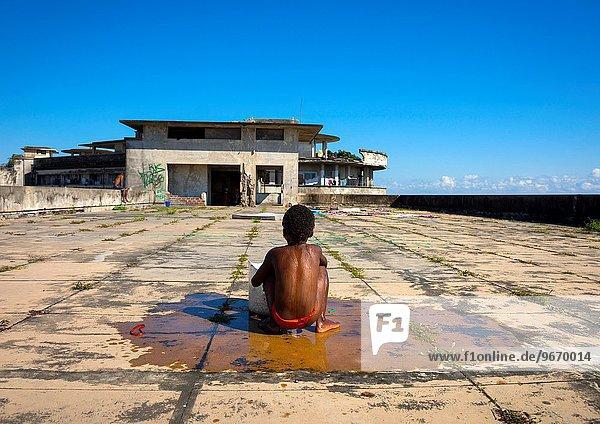 waschen Hotel hoch oben Ghetto Beira Mosambik