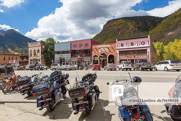 Berg Stadt Geschichte Colorado alt