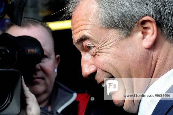 Nigel Farage MEP and UKIP leader in Rochester to open a new office on the High Street and support Mark Reckless ahead of the by-election in November.