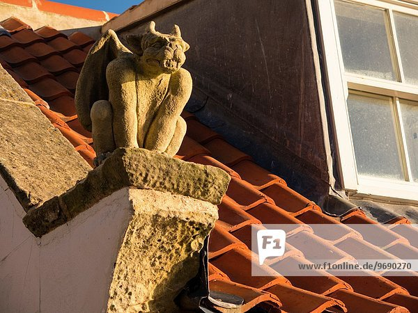 Dach Wohnhaus britisch Dekoration Yorkshire and the Humber