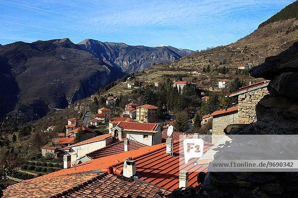 The witches village of Triora  Imperia  Liguria  Italy.