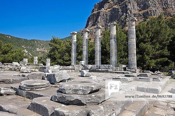 Großstadt Ruine antik Türkei Provinz Aydin