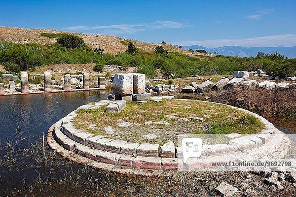 Hafen, Großstadt, Ruine, Monument, groß, großes, großer, große, großen, antik, Türkei, Provinz Aydin