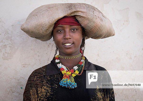 Frau Tradition Kostüm - Faschingskostüm Verkleidung Äthiopien