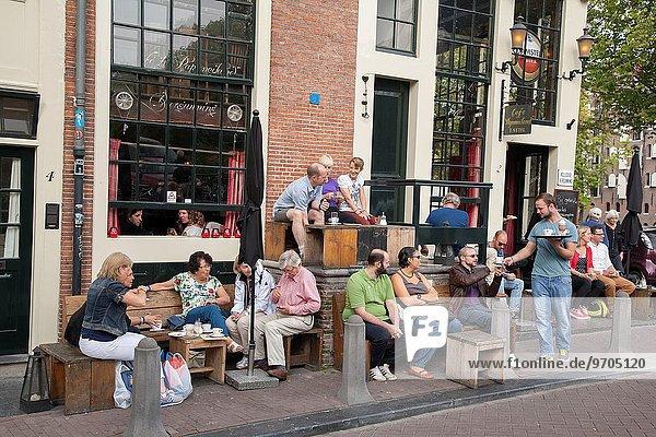 Cafe Papeneiland  Jordan District  Holland.