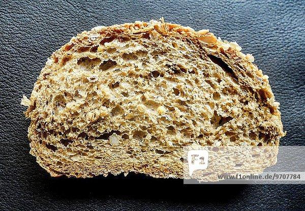 Brot Scheibe Weizen braun Kreta Griechenland