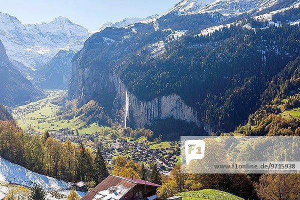 Tal Lauterbrunnen Schweiz
