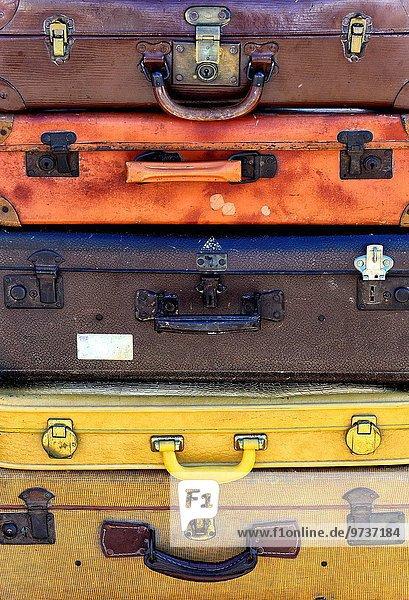 Koffer Stapel alt Koffer,Stapel,alt