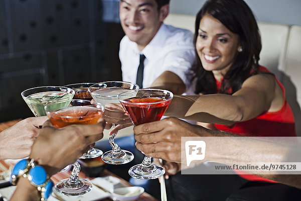 Freundschaft Cocktail Nachtklub